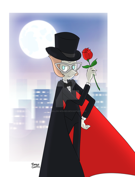 Tuxedo Pearl by mell0w-m1nded