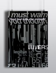 Univers Poster by German-Blood