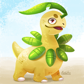 153 - Bayleef by TsaoShin