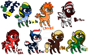 C-H-R-O-N-A  MLP SodaPoP Themed Adopts ((OPEN)) by C-H-R-O-N-A