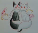 PMMM Ship Challenge Day 10 - KyuubeyxJuubey by SparkleMongoose