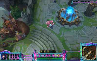 River Spirit Nami League of Legends Overlay by Melificence