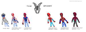The Spider Suits Concept by skysoul25
