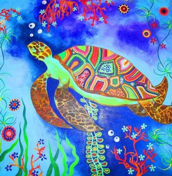 Indian Turtle by Hillion