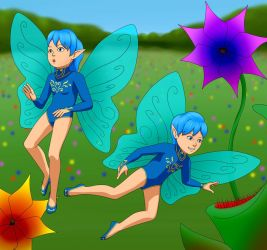 Little Elf Twins David and Billy by donpretzel by Curious4ever
