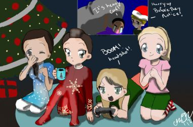 How The Noobs Stole Christmas by arigatosan100