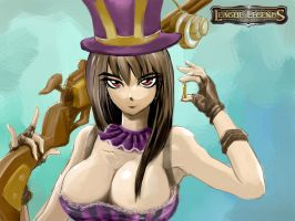 Caitlyn The Sheriff of Piltove by YunsamaTH