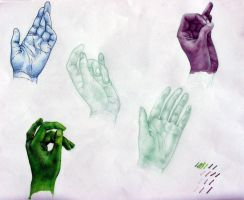 Hands 1 by sprezzaturan