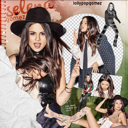 + Selena Gomez PNG Pack by LollypopGomez