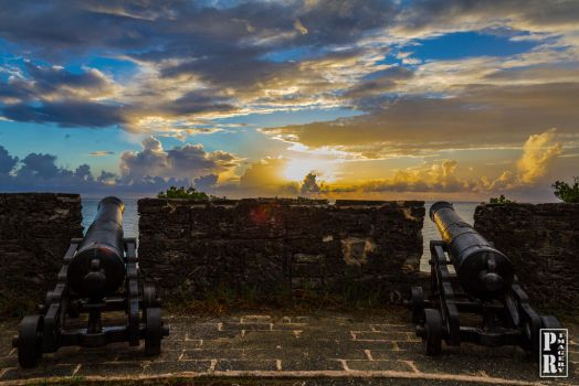 Cannons at Gates Fort by PR-Imagery