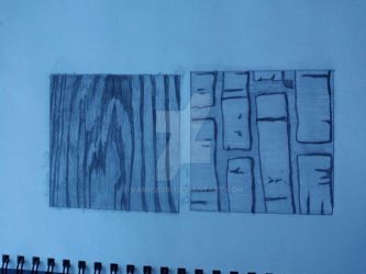 Textures Drawing by Vamp2004