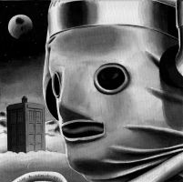The Tenth Planet Cyberman by Marc137