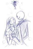 jack and sally by t3rrorbunny