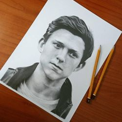 Tom Holland  by ThomasArt98