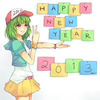 2013: happy new year! by Akashicchan