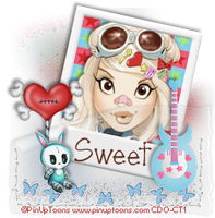 PinUp Toons - Sweet by CreativeDesignOutlet