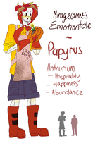 Emotiontale: Papyrus by MirageComet