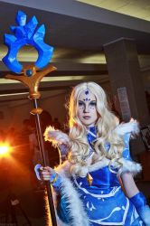 Rylai the Crystal Maiden by KsanaStankevich