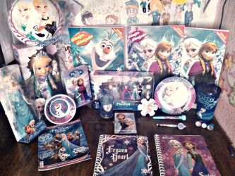 Frozen collection so far x3 (UPDATED) by Thetruffulacupcake