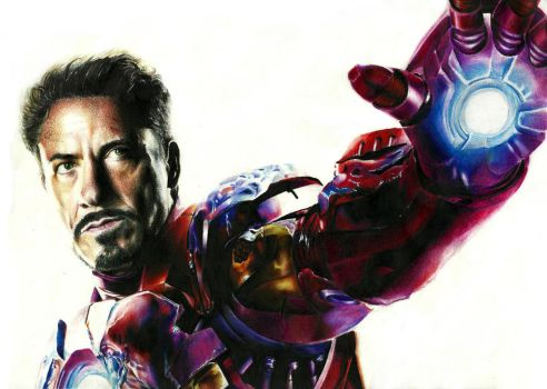 The Iron Man by EnergizerII