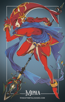 Breath Of The Wild-Mipha by HeavyMetalHanzo