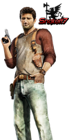 Nathan Drake - Render 1 by snakeff7