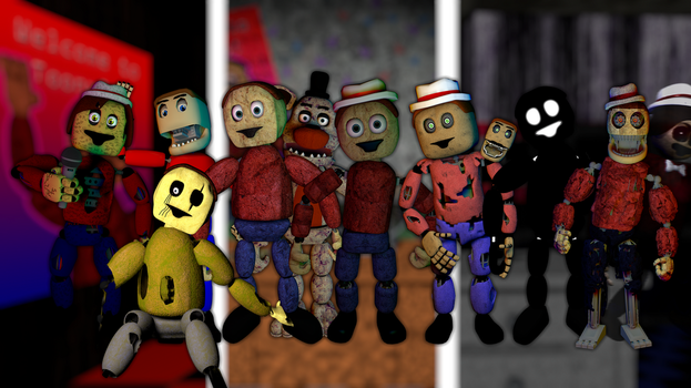 Old Six Horrors Wallpaper by ToonsterMusic
