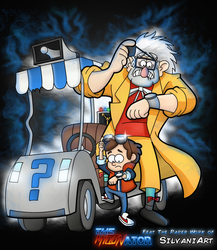 Gravity Falls X Back to Future - feat SilvaniArt by Miltonator