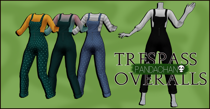 MMd_PaNdaChAn_converted_thing9|overalls dl by PaNdaChAnMMD