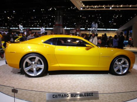 Chevy Camaro Bumblebee by future-fighter-pilot