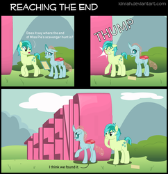 Reaching the End by Kinrah
