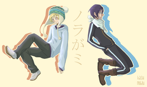 Noragami JUMP by kasumiblu