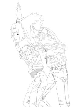 -Scene from a SasuSakuRPG- by S-0-N-N-E