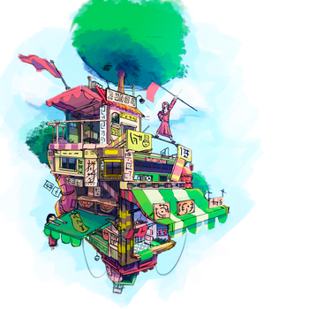 tree house by faxdoc