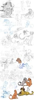 Sketchdump of 2013 Part 1 by timba