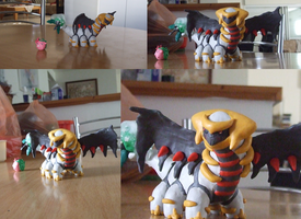 Giratina and the ice Bouquet