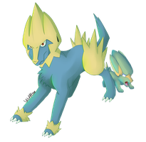 Manectric and Electrike
