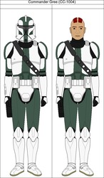 Commander Gree (CC-1004) by Suddenlyjam