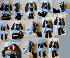 Life size Riolu (commission) by Rens-twin