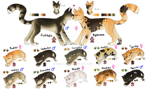 Cat Family I SP - Points - CLOSED by PennyADayAdopts