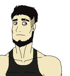 Marshall (Marshmallow) humanized by Redspets