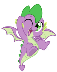 Hooray For Spike! by EMositeCC