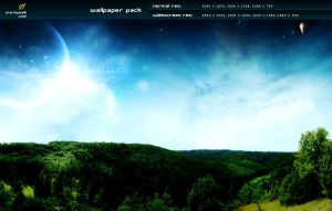 skyscape - wallpaper pack by mpk2