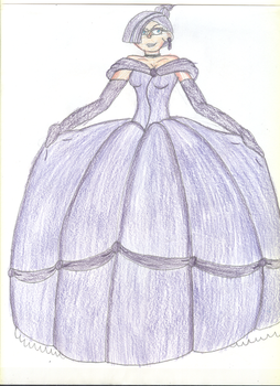 Ballgown Janice by TrainsAndCartoons