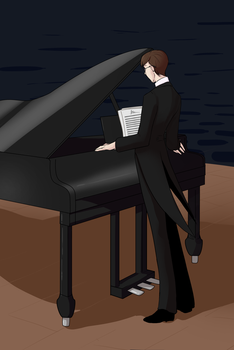 Craig The Pianist by Ilusien