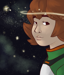 Pidge's Night Sky Version 3 by Dontgiveafvck