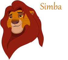 Simba by LiontheNorthernlands