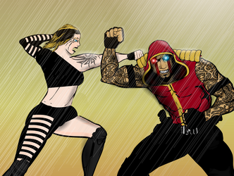 Fisticuffs by Vectorman316
