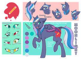 [Ref Sheet] Moonlight by FuRi9N