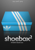 Adidas Shoebox Icon by PsychOut
